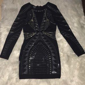 Bebe studded dress